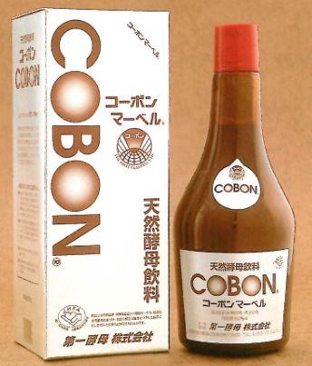 COBON 天然酵母飲料 コーボンマーベル 525mL 4本セット【送料無料】