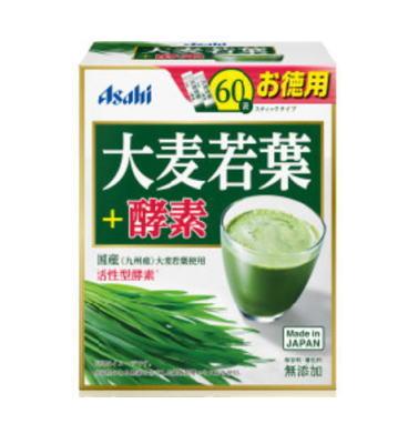 アサヒヘルスケア 大麦若葉+酵素 60袋 6個セット