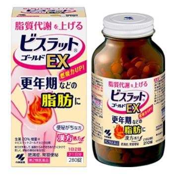 【第2類医薬品】小林製薬 ビスラットゴールドEX 280錠 3個セット【送料無料】