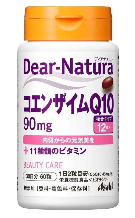 アサヒ ディアナチュラ コエンザイムQ10+11種のビタミン 60粒(30日分) 12個セット【送料無料】【栄養機能食品】
