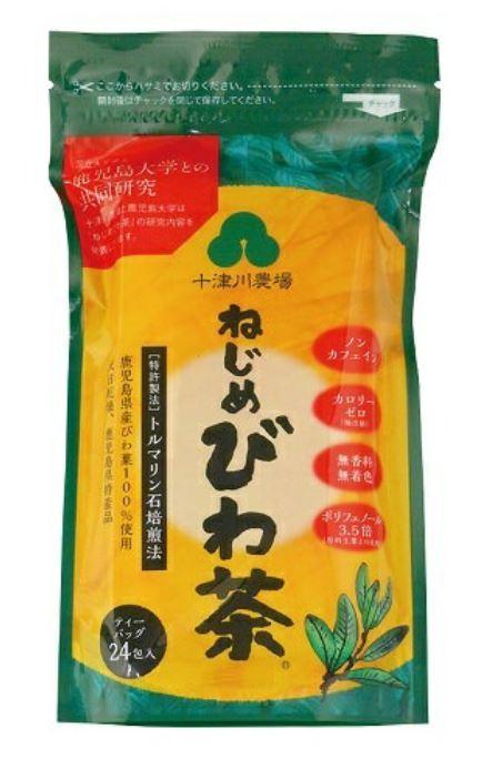 十津川農場 ねじめびわ茶24(2g×24包) 12個セット【送料無料】