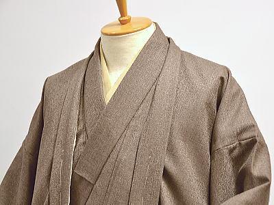 ウール 男物 仕立上り着物・羽織 〔アンサンブル〕 [ 0910-092 ]