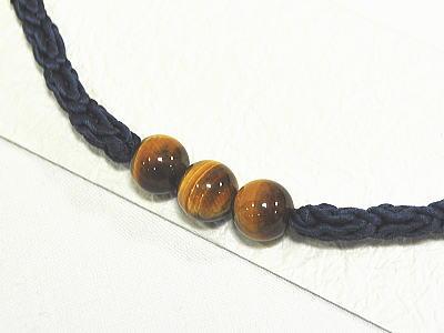 珠付き 男物 羽織紐 [ 0906-952a ]【楽ギフ_のし】 【男性・はおり・着付け小物・素材・絹・天然石】