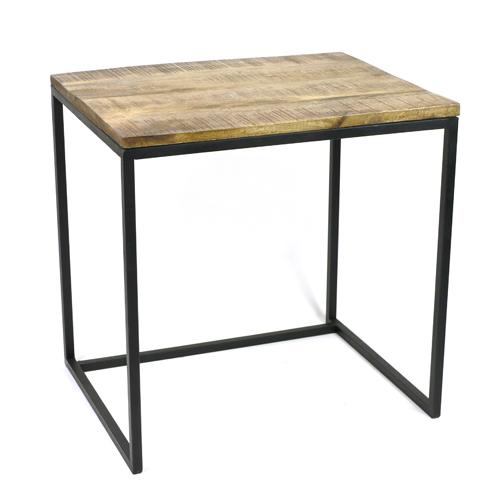 MING マンゴーウッドのテーブル 高さ50cm