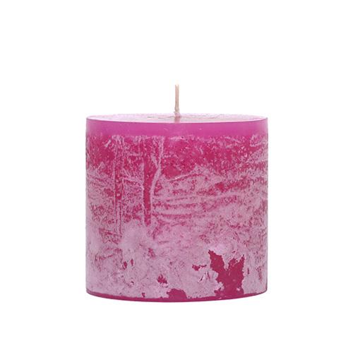 コミュニティトレード 雑貨 タイ MING 値引き ラズベリーピンク キャンドル 8cm×8cm おすすめ特集