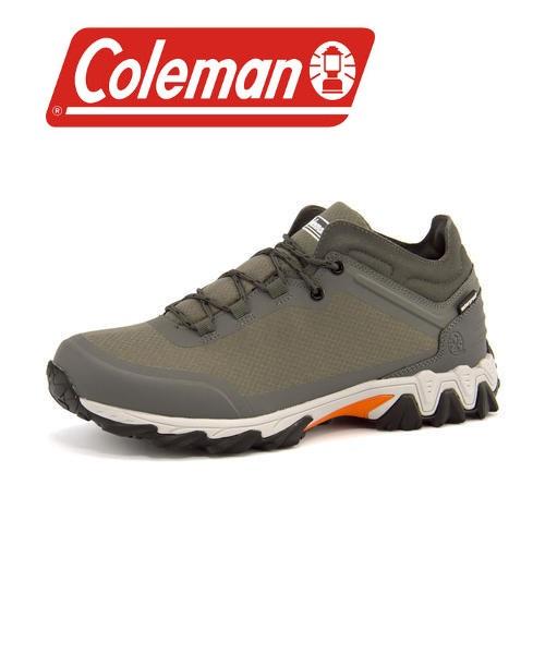 Coleman(コールマン) 【防水】メンズ トレッキングミッドスニーカー 576406 グレー