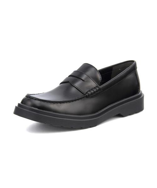 Lee(リー) SANTA ROSA(サンタローザ) 876126 ブラック | シューズ 靴 メンズ コインローファー ローファー カジュアル 本革 ビジネスシューズ スリッポン スリッポンシューズ すりっぽん カジュアルシューズ メンズシューズ クッション ドレスシューズ レザーシューズ 革靴