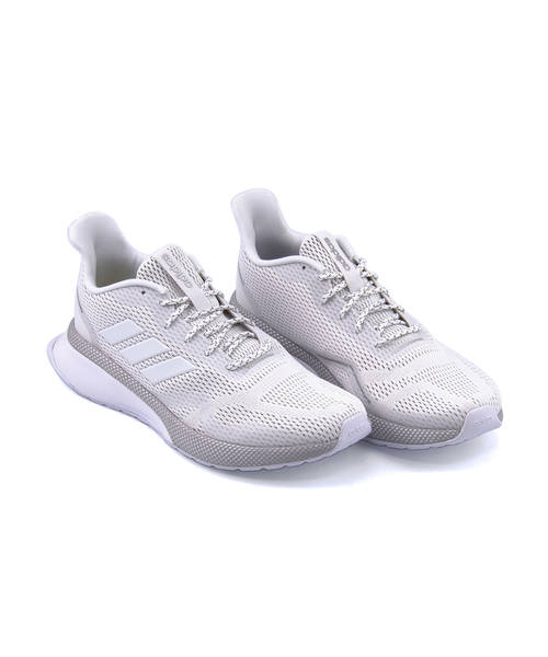 images détaillées 88458 95770 adidas Adidas NOVA RUN X Lady's sneakers (NOVA orchid X) EE9928 running  white / running white / gray TWO