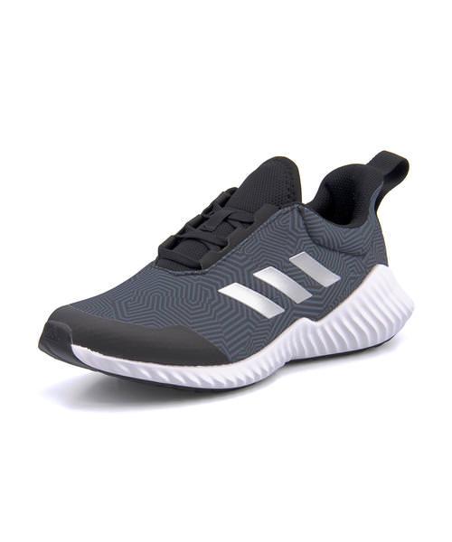adidas Adidas FORTARUN 2 K kids sneakers (フォルタラン 2K) G27159 core black シルバーメット technical center ink