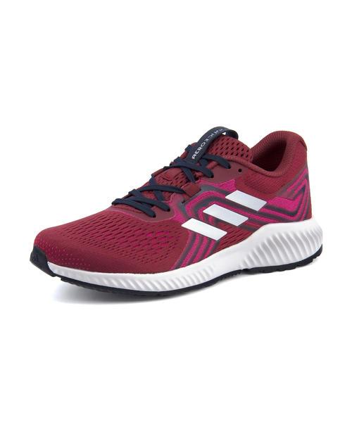 adidas(アディダス) AERO BOUNCE W(エアロバウンスW) AQ0539 ノーブルマルーン/シルバーメット/リアルマゼンタ
