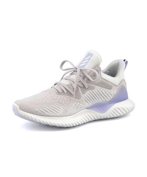 adidas(アディダス) ALPHA BOUNCE BEYOND M(アルファバウンスビヨンドM) AQ0572 グレーワン/ランニングホワイト/エアロブルー