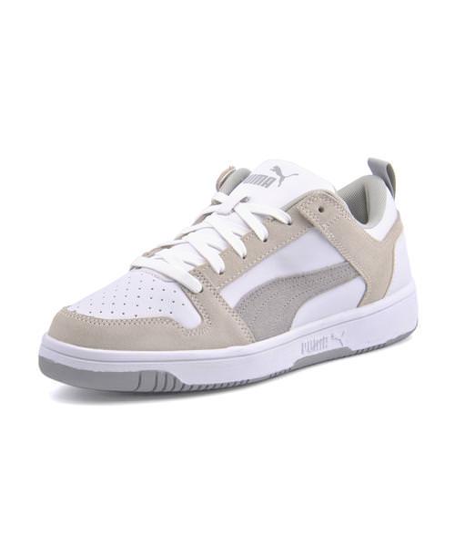PUMA Puma REBOUND LAYUP LO SD men sneakers (rebound layup low SD) 370539 02 Puma white High Rise
