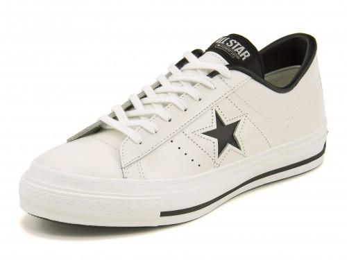 converse(コンバース) ONE STAR J(ワンスターJ) 32346510 ホワイト/ブラック 【dl】asbee
