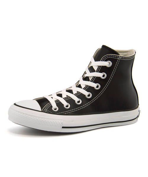 converse(コンバース) LEA ALL STAR HI(レザーオールスターHI) 1B908 ブラック