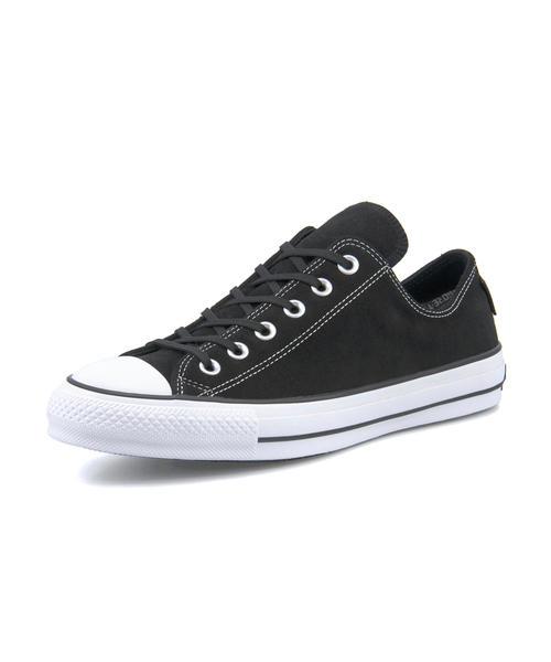 converse(コンバース) ALL STAR 100 GORE-TEX SUEDE OX【防水透湿】(オールスター100ゴアテックススエードOX) 32159241 ブラック【レディース】