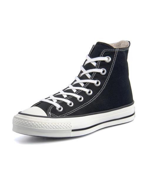 converse(コンバース) CANVAS ALL STAR J HI レディーススニーカー(キャンバスオールスターJハイ) 32067961 ブラック【レディース】