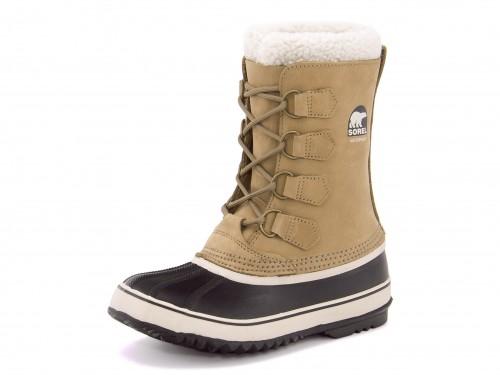 SOREL(ソレル) 1964 PAC 2(1964パック2) NL1645 280 バフ/ブラック | ブーツ 防水ブーツ ウィンターブーツ 防寒ブーツ ボアブーツ ミドルブーツ スノーブーツ ウインターブーツ 雪 冬 雪道 レディース 靴 シューズ もこもこ あったか 防水 釣り 冬用 防滑 暖かい 防寒靴