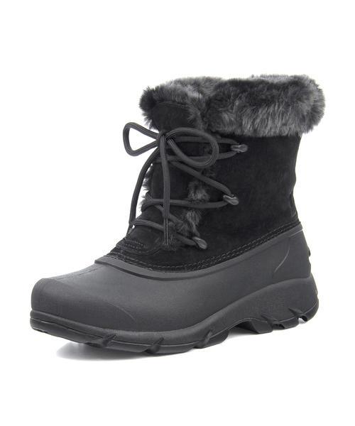 SOREL(ソレル) SNOW ANGEL LACE【防水/保温】(スノーエンジェルレース) NL1810 010 ブラック