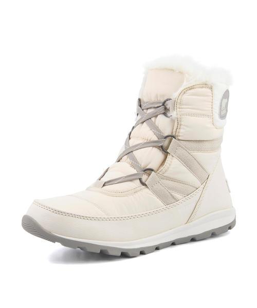 SOREL(ソレル) WHITNYE SHORT LACE【防水/保温】(ウィットニーショートレース) NL2776 920 フォーン