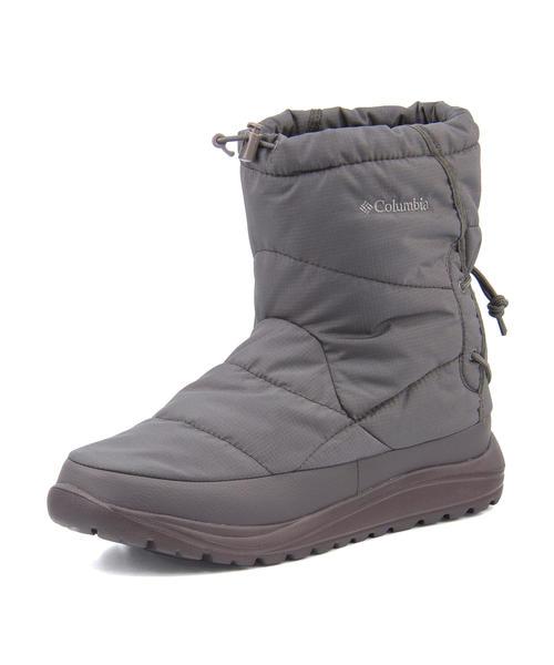 Columbia(コロンビア) SPINREEL BOOT ADVANCE WP OMNI-HEAT【防水/滑りにくい】(スピンリールブーツアドバンスウォータープルーフオムニヒート) YU3969 030 チャコール | ブーツ メンズ アウトドア メンズブーツ 防水ブーツ アウトドアシューズ カジュアルブーツ 防滑 靴