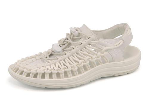 KEEN(キーン) UNEEK MONOCHROME(ユニークモノクローム) 1014100 スターホワイト | サンダル レディース スポーツサンダル スポーツ レディースサンダル スポサン 女性 靴 シューズ レディースシューズ カジュアルサンダル カジュアル ブランド 白