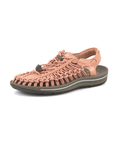 KEEN(キーン) UNEEK(ユニーク) 1019937 ミューテッドクレイ/シルバーグリーン | サンダル レディース スポーツサンダル スポーツ レディースサンダル スポサン 女性 靴 シューズ レディースシューズ カジュアルサンダル カジュアル ブランド