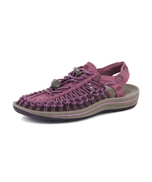 KEEN(キーン) UNEEK(ユニーク) 1019939 チューリップウッド/ワインテイスティング | サンダル レディース スポーツサンダル スポーツ レディースサンダル スポサン 女性 靴 シューズ レディースシューズ カジュアルサンダル カジュアル ブランド