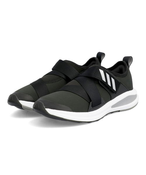 adidas アディダス FORTA RUN X K キッズスニーカー 軽量 フォルタランXK シューズ シルバーメタリック 現品 入荷予定 ボーイズ コアブラック ガールズ H01394 スニーカー 靴 キッズ