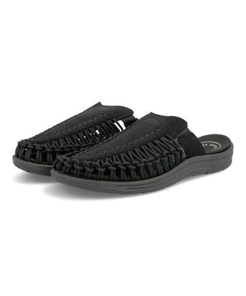 KEEN キーン UNEEK 2 SLIDE メンズサンダル(ユニーク2スライド) 1022371 ブラック/ブラック