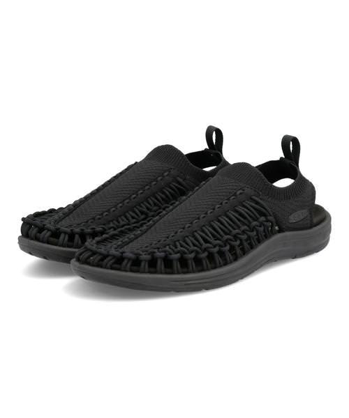 KEEN キーン UNEEK EVO メンズサンダル(ユニークエヴォ) 1023074 ブラック/ブラック