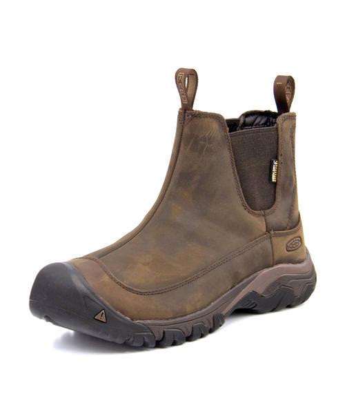 KEEN キーン ANCHORAGE BOOT 3 WP メンズブーツ【防水透湿/滑りにくい】(アンカレッジブーツ3ウォータープルーフ) 1017790 ダークアース/マルチ