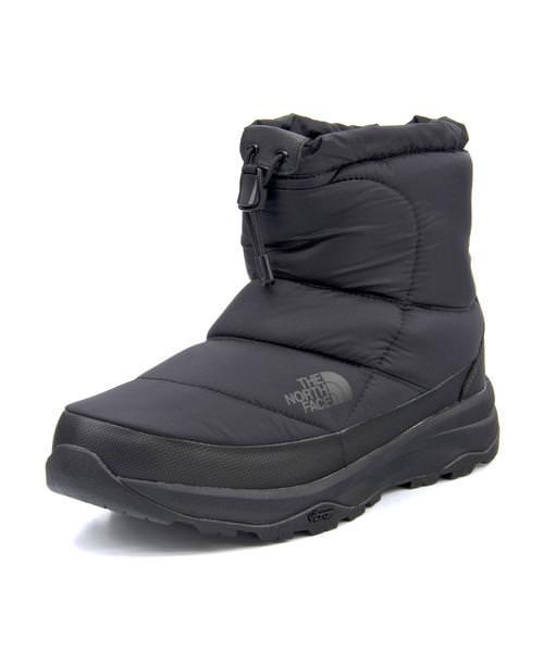 THE NORTH FACE ノースフェイス NUPTSE BOOTIE WP 6 SHORT メンズブーツ【防水透湿/保温/滑りにくい】(ヌプシブーティーウォータープルーフ6ショート) NF51874 K TNFブラック【メンズ】