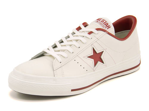 converse コンバース ONE STAR J メンズスニーカー(ワンスターJ) 32346512 ホワイト/レッド