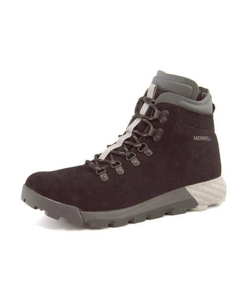 MERRELL(メレル) WILDERNESS AC+(ウィルダネスACプラス) J91677 ブラック | ブーツ メンズ アウトドア メンズブーツ アウトドアシューズ カジュアルブーツ シューズ 靴 メンズシューズ カジュアルシューズ カジュアル ブランド メンズくつ 黒