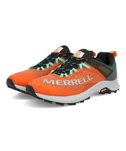 MERRELL メレル MTL LONG SKY メンズスニーカー【軽量】(エムティーエルロングスカイ) J066223 オレンジ