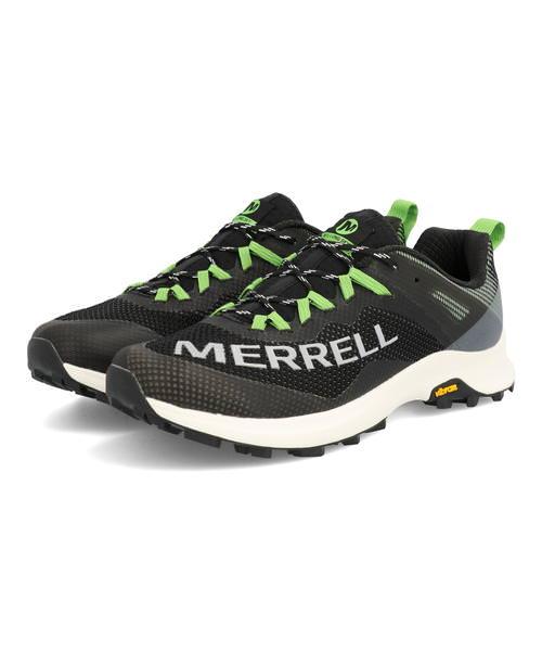 MERRELL メレル MTL LONG SKY メンズスニーカー【軽量】(エムティーエルロングスカイ) J066299 ブラック/ライム