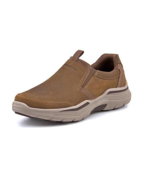 skechers brown mens shoes