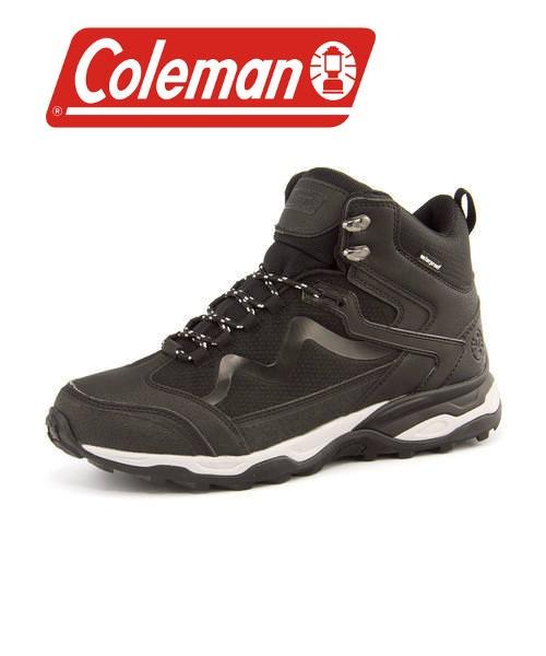 Coleman(コールマン) 【防水/滑りにくい】メンズ トレッキングスニーカー 576401 ブラック