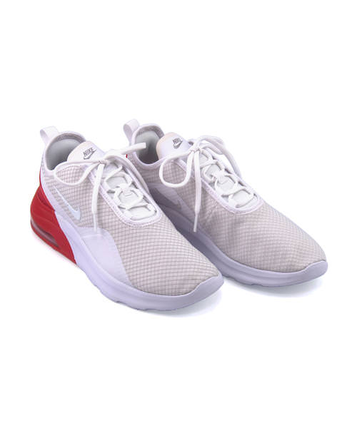 NIKE Nike AIR MAX MOTION 2 men's sneakers (Air Max motion 2) AO0266 102 white white university red
