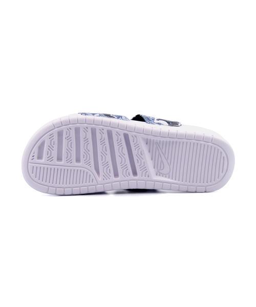 NIKE(ナイキ) WMNS BENASSI DUO ULTRA SLIDE(ウィメンズベナッシデュオウルトラスライド) 819717 002 ブラック/ホワイト | サンダル レディース スポーツサンダル スポーツ レディースサンダル スポサン 女性 靴 シューズ レディースシューズ カジュアルサンダル 黒 白