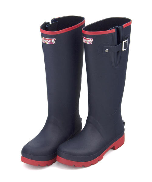 ea066d64ec6 Coleman (Coleman) Lady's rain boots 913114 navy | The size walk that a  pullover boots belt for the day measures boots shoes shoes rain outfit work  of ...