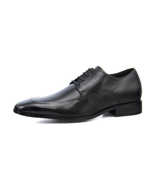 MARIO VALENTINO(マリオバレンチノ) メンズ 本革ビジネスシューズ【幅広3E】 MR8042 ブラック