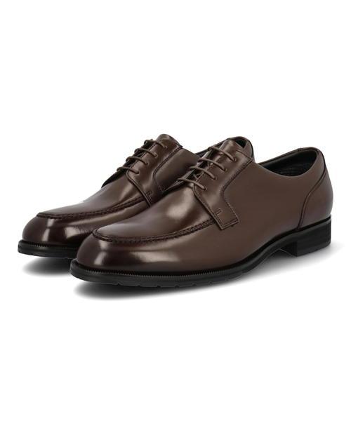 madras Walk マドラスウォーク 10%OFF メンズ 無料 ゴアテックス本革ビジネスシューズ 防水透湿 幅広4E MW5821 GTX ビジネスシューズ Uチップ レースアップ 耐水シューズ シューズ レインシューズ ダークブラウン 防水 靴