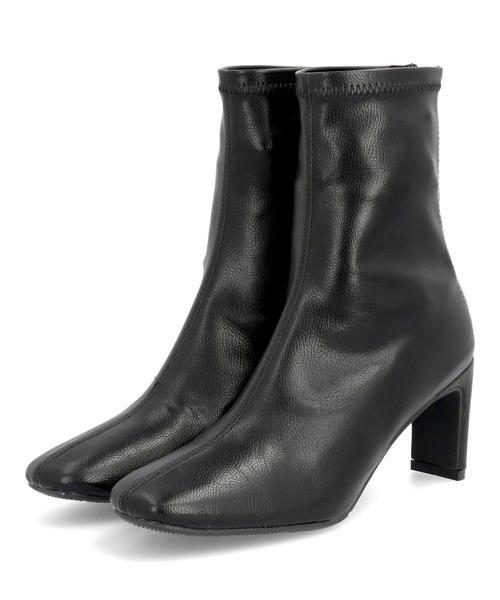 Padourouge パドリュージュ アウトレット☆送料無料 レディース スクエアストレッチブーツ 11040 ブラック シューズ 靴 ミドルブーツ ショートブーツ ギフト ミドル 保障 ショート ブランド ブーツ