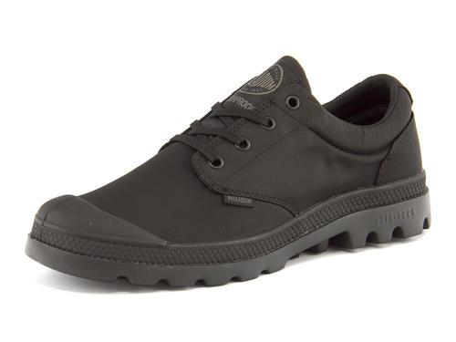 PALLADIUM(パラディウム) 【完全防水仕様】PAMPA OXFORD PUDDLE LITE WP(パンパオックスフォードパドルライトウォータープルーフ) 75427 060 ブラック/ブラック | シューズ スニーカー 靴 メンズ ローカット ローカットスニーカー メンズスニーカー メンズシューズ 黒 くつ