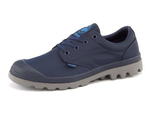 PALLADIUM(パラディウム) 【完全防水仕様】PAMPA OXFORD PUDDLE LITE WP(パンパオックスフォードパドルライトウォータープルーフ) 75427 418 ネイビー/メタル   シューズ スニーカー 靴 メンズ ローカット ローカットスニーカー メンズスニーカー メンズシューズ カジュアル