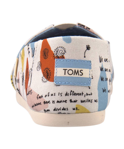TOMS トムス CLASSIC ALPARGATA3 0 レディースシューズ クラシックアルパルガータ3 010014381 ブレイクドゥードゥルプリントUMqzVpSG