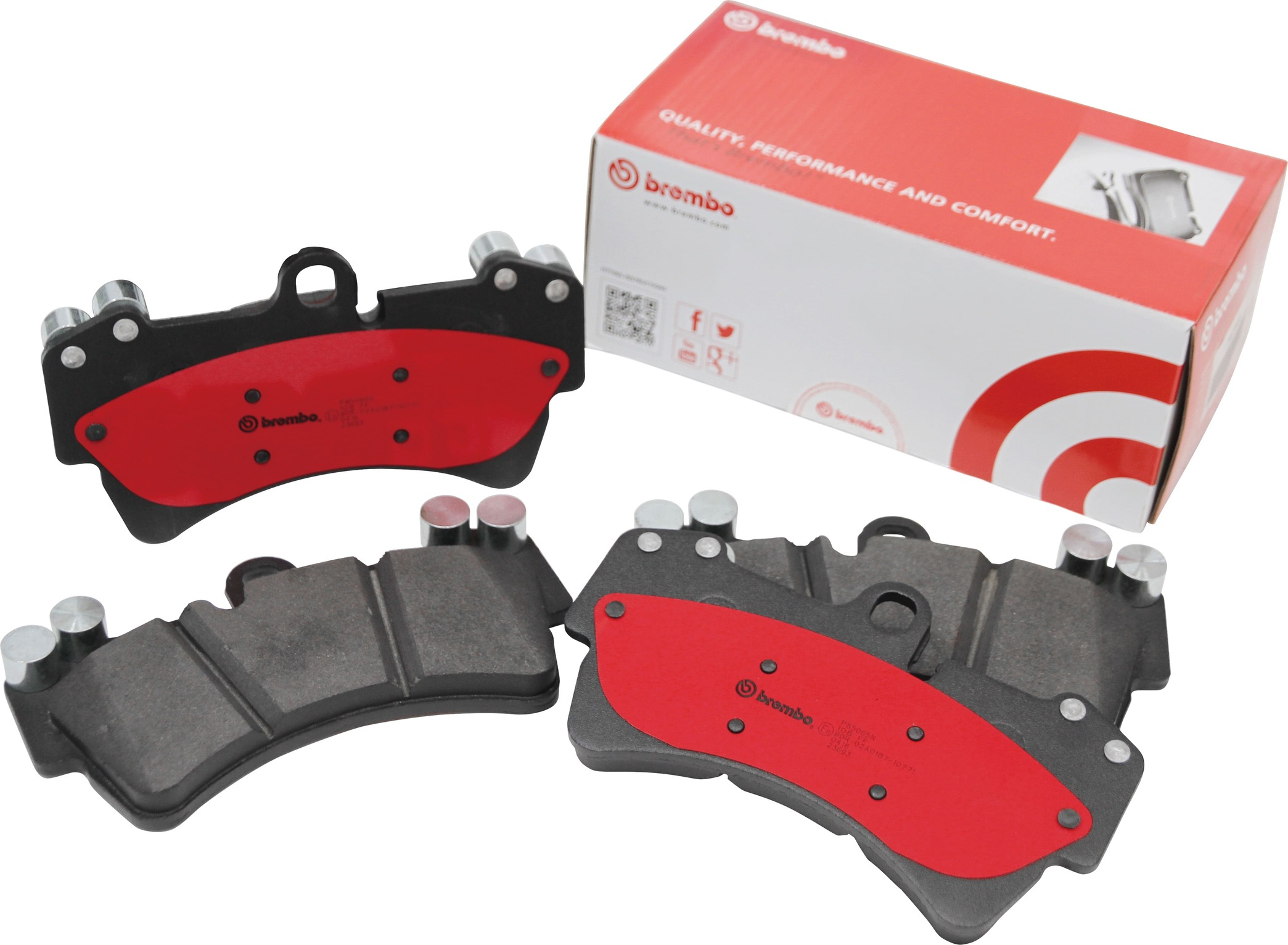 公式ストア 機能性を追及したブレーキダスト低減タイプ brembo ブレーキパッド セラミック フロント左右セット MERCEDES BENZ R171 SLK フロント お買い得 09~06 03 171456 P50 04 073N