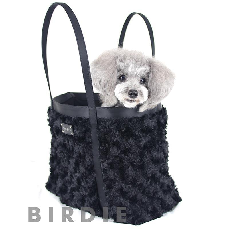 ノアールボアキャリー【BIRDIEキャリーバッグ】おしゃれな犬用キャリーバッグ高級キャリーバッグ セレブ 犬キャリーバッグ
