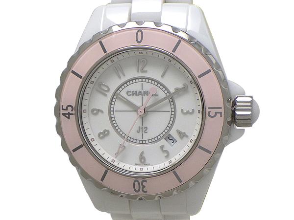 CHANEL シャネルJ12 腕時計SS(ステンレススチール)・ホワイトセラミックホワイト(白)文字盤 レディース【中古】【送料無料】【質屋出品】